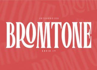 Bromtone Font