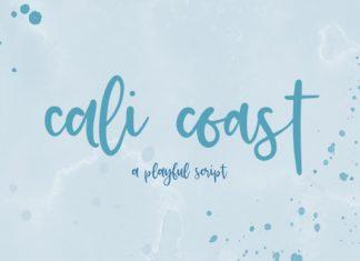 Cali Coast Font