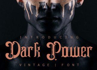 Dark Power Font