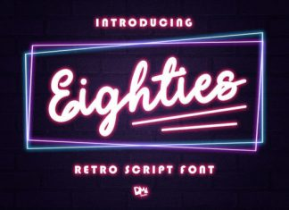 Eighties Font