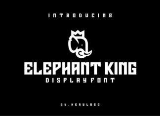 Elephant King Font
