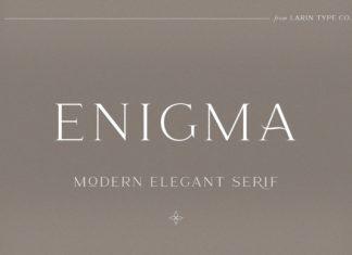 Enigma Font