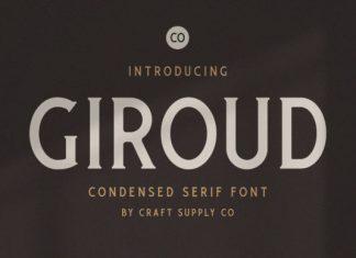Giroud Font