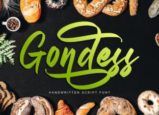Gondess Font