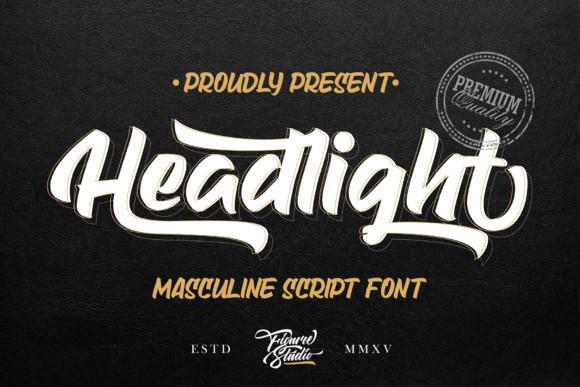 Headlight Font