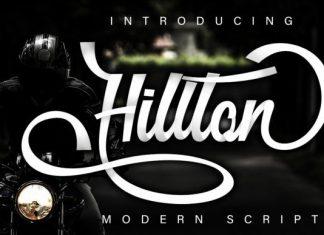 Hillton Font