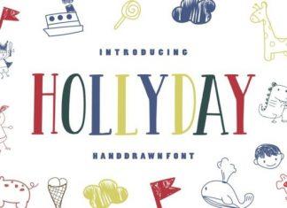 Hollyday Font