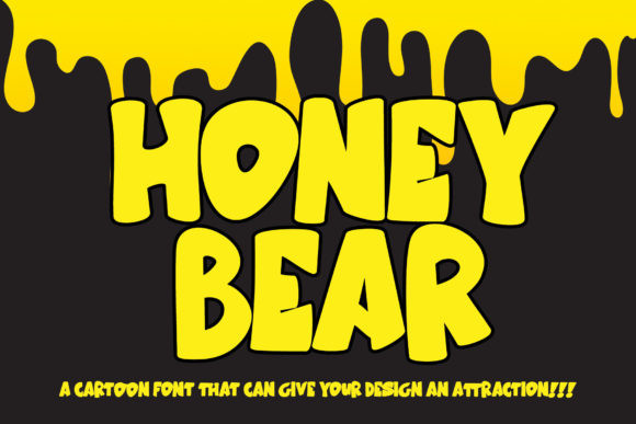Honey Bear Font