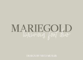 Mariegold Font