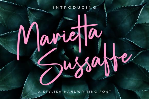 Marietta Sussaffe Font