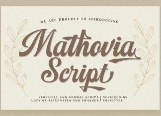 Mathovia Font