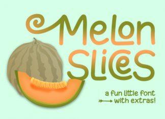 Melon Slices Font