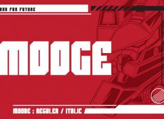 Mooge Font