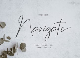Navigate Font
