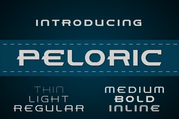Peloric Font