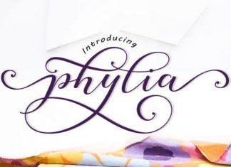 Phylia Font