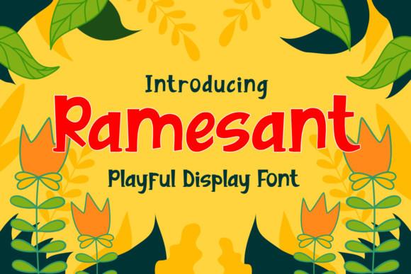 Ramesant Font