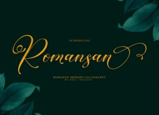 Romansan Font