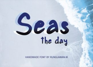 Seas the Day Font