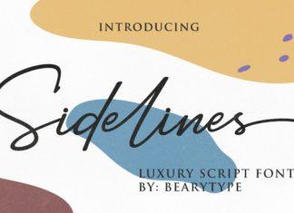 Sidelines Font