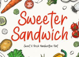 Sweeter Sandwich Font