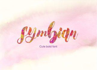 Symbian Cute Font