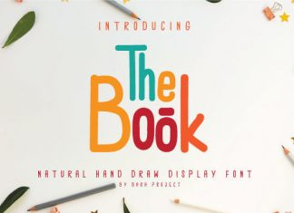 The Book Font