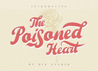 The Poisoned Heart Font
