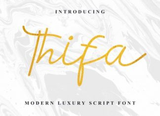Thifa Font