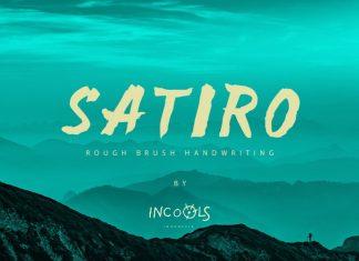 SATIRO Font