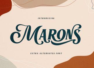 Marons Font