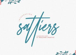 Sattiers Font