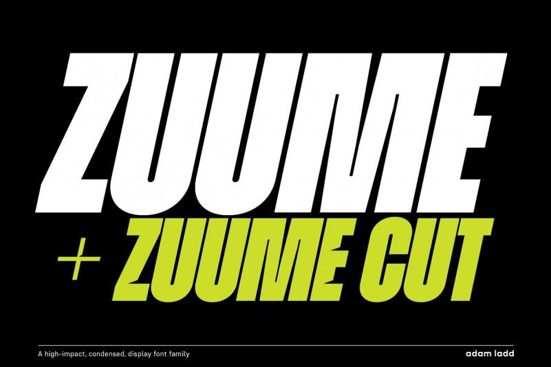Zuume Font