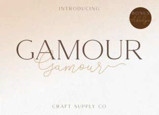 Gamour Font