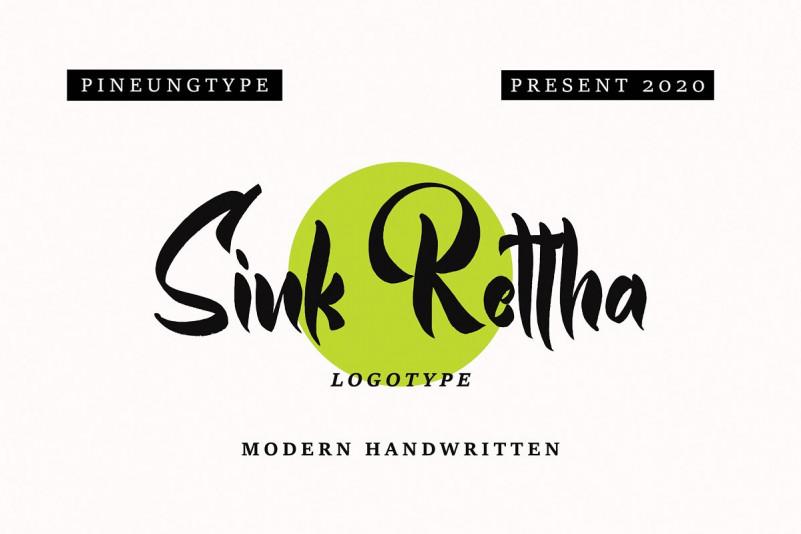 Sink Rettha Font