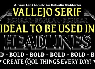 Vallejo Font