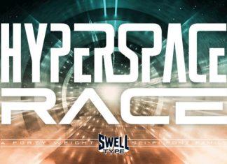 Hyperspace Race Font