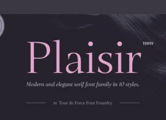 Plaisir Font