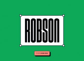 Robson Font