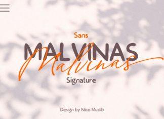 Malvinas Font