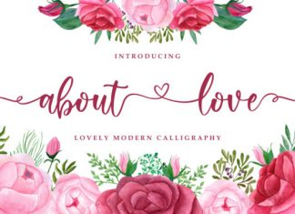 About Love Font