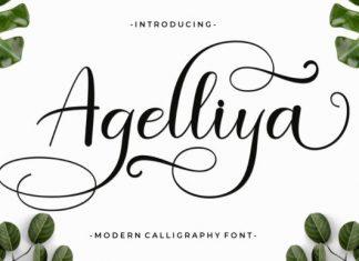 Agelliya Font
