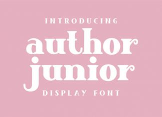 Author Junior Font