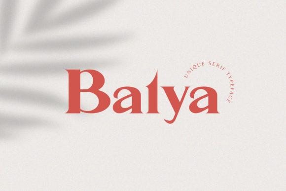 Balya Font