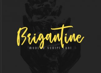 Brigantine Font