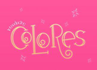 Colores Font