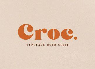 Croc Font
