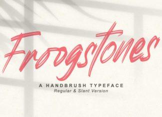 Froogstones Font