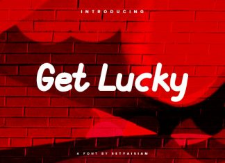 Get Lucky Font