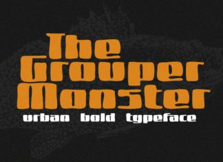 Grouper Monster Font